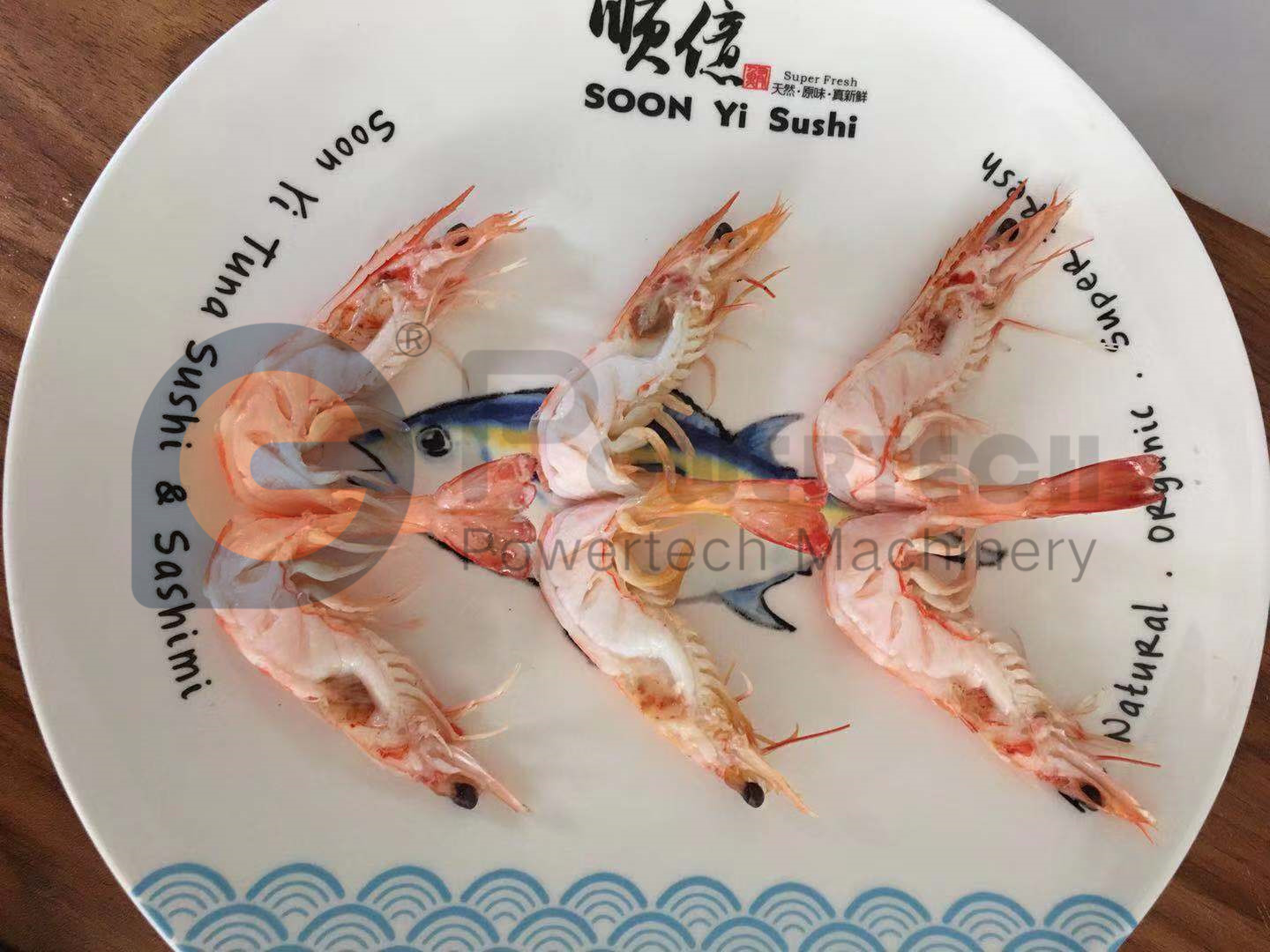 High Capacity Cooked Head-on Shrimp Back Cut And Deveining Machine