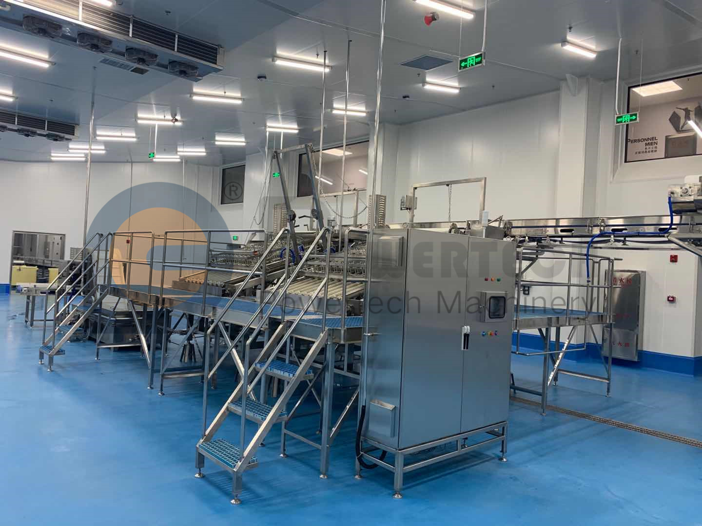 Lowest Operation Cost High Profitablity Automatic Shrimp Peeling Production Line