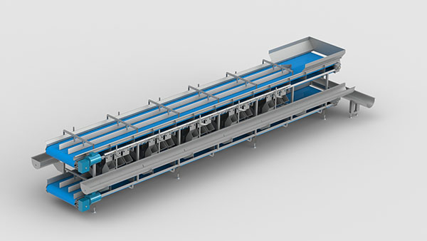 Multilayer Operating Conveyor