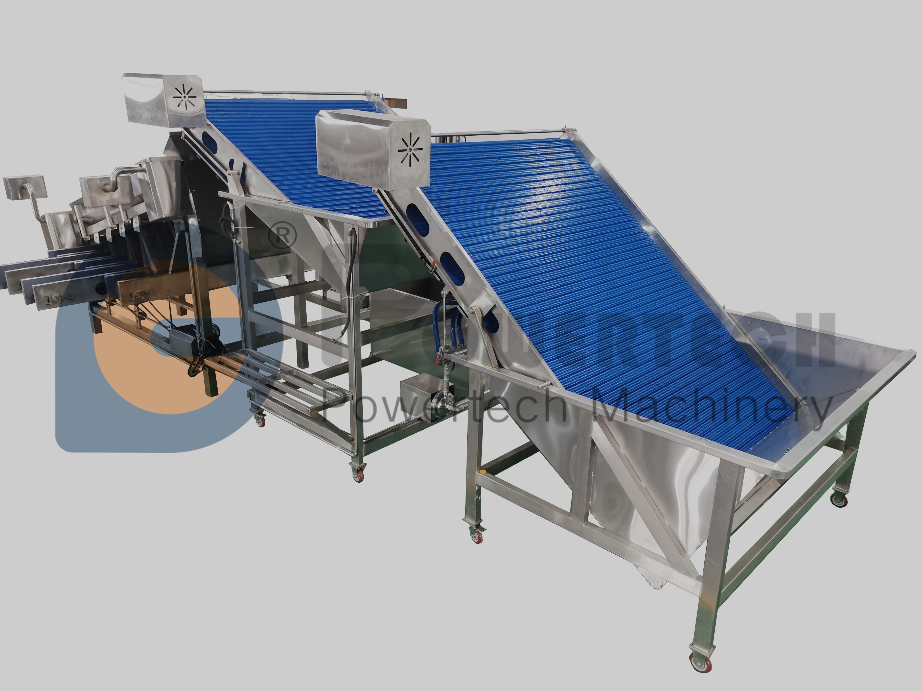 Lowest Operation Cost Automatic Shrimp Grading Machine