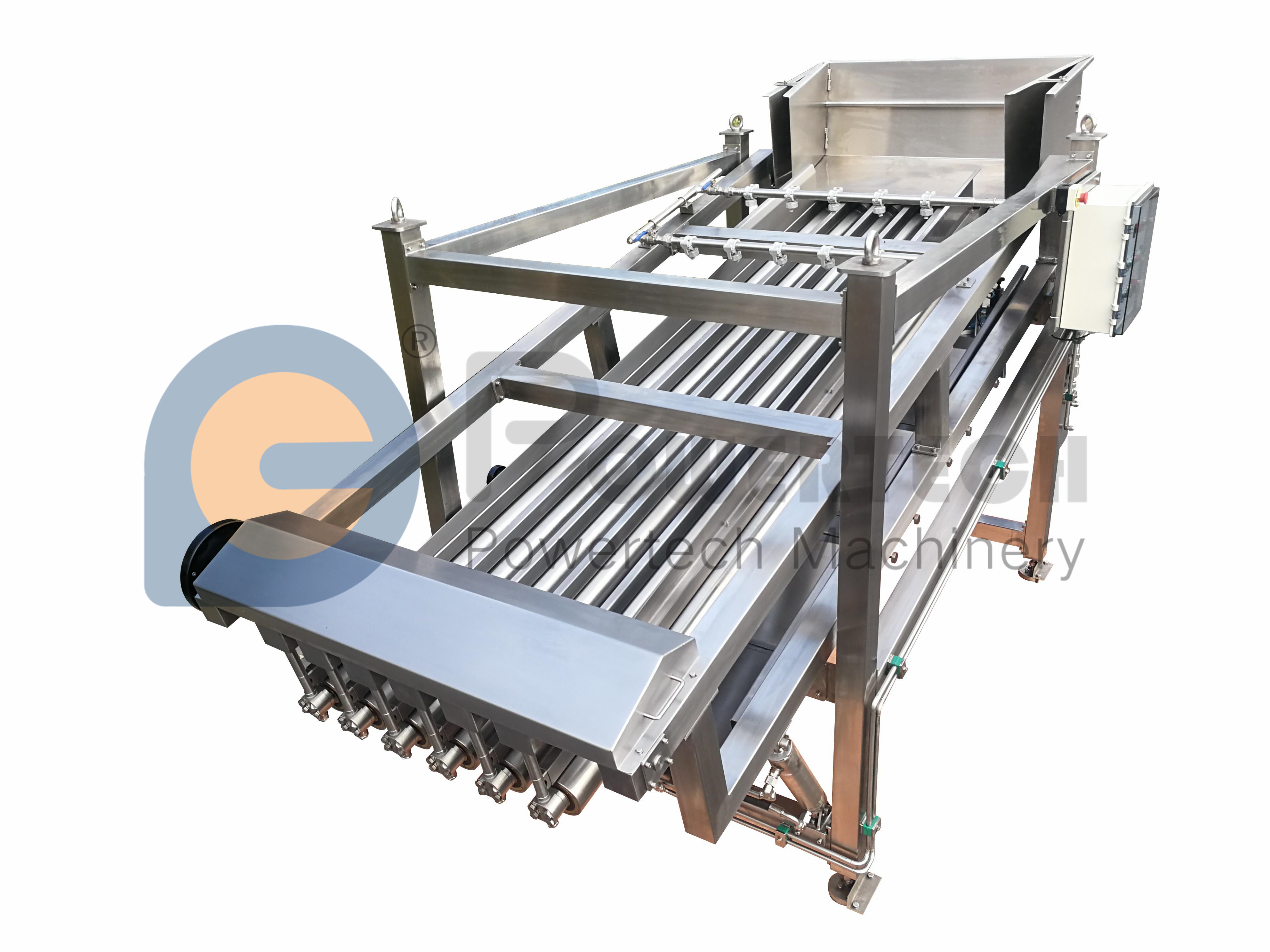 Industrial Food Grade And Food Safety Fish Grading Machine